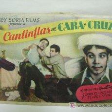 Cine: + CANTINFLAS CARA O CRUZ. CINE ELISEOS ZARAGOZA. Lote 11428490