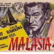Cine: MALASIA. SENCILLO DE EUROPA FILMS. ESTRENO EN TEATRO PRINCIPE Y FLORIDA.. Lote 11635718