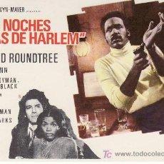Cine: LAS NOCHES ROJAS DE HARLEM-RICHARD ROUNDTREE- MÁS ARTICULOS DE COLECCION EN RASTRILLOPORTOBELLO. Lote 23337074