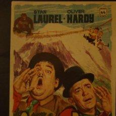 Cine: QUESOS Y BESOS. STAN LAUREL Y OLIVER HARDY, EL GORDO Y EL FLACO, S/P. ESTA IMPECABLE. . Lote 27319837