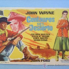 Cine: CENTAUROS DEL DESIERTO-JOHN WAYNE-JOHN FORD-. Lote 22926649