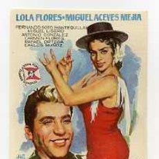 Cine: ECHAME LA CULPA, POR LOLA FLORES. S/I.. Lote 297057318