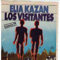 Cine: LOS VISITANTES. SENCILLO DE UNITED ARTISTS.. Lote 11785971