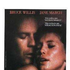 Cine: EL COLOR DE LA NOCHE, POR BRUCE WILLIS. POSTAL.. Lote 178311810