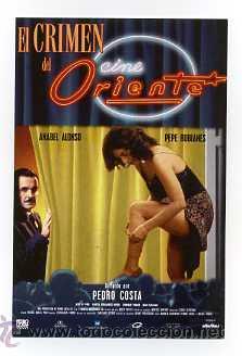 El Crimen Del Cine Oriente Por Anabel Alonso Sold Through