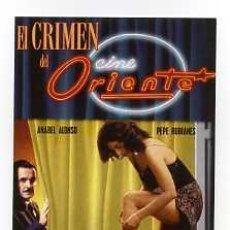 Cine: EL CRIMEN DEL CINE ORIENTE, POR ANABEL ALONSO. POSTAL. Lote 174319937