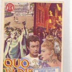 Cine: QUO VADIS. Lote 24599291