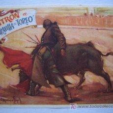 Folleto de mano - maravilla del toreo - toros - filmofono conchita cinturon filmofono