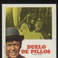 Cine: P-0385- DUELO DE PILLOS (DIRTY DINGUS MAGEE) (FRANK SINATRA - GEORGE KENNEDY - ANNE JACKSON). Lote 109895962