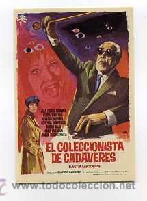EL COLECCIONISTA DE CADAVERES, CON BORIS KARLOFF. (Cine - Folletos de Mano - Terror)