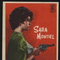 Cine: P-9488- YO NO CREO EN LOS HOMBRES (CINE PARIS) SARA MONTIEL - ROBERTO CAÑEDO - REBECA ITURBIDE. Lote 19468867