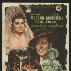 Cine: 1891- LA REINA MORA (SIN PUBLICIDAD). Lote 19827256