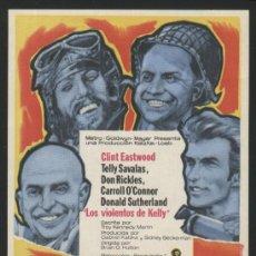 Cine: P-2952- LOS VIOLENTOS DE KELLY (KELLY'S HEROES) CLINT EASTWOOD - DONALD SUTHERLAND - TELLY SAVALAS. Lote 195020325
