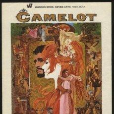 Cine: P-3832- CAMELOT (RICHARD HARRIS - VANESSA REDGRAVE - FRANCO NERO - DAVID HEMMINGS). Lote 24681856
