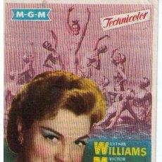 Cine: LA PRIMERA SIRENA.SENCILLO DE MGM. MAJESTIC CINEMA 1955. ¡IMPECABLE!. Lote 12315682