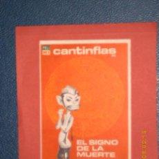 Cine: EL SIGNO DE LA MUERTE, CANTINFLAS, SIN PUBLICIDAD, PERO IMPECABLE. Lote 12353327