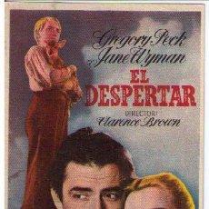 Cine: EL DESPERTAR. SENCILLO DE MGM. CINE COLISEO ESPAÑA. ¡IMPECABLE!. Lote 12365605