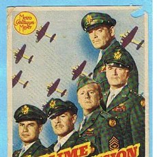 Cine: SUBLIME DECISION. CLARK GABLE, WALTER PIDGEON, VAN JOHNSON. DIR. SAM WOOD.. Lote 12478500