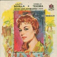 Folhetos de mão de filmes antigos de cinema: HABANERA. Lote 12518229