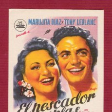 Cine: PROGRAMA CINE SIN PROPAGANDA - EL PESCADOR DE COPLAS - DIRECTOR ANTONIO DEL AMO. Lote 12595435