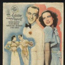 Cine: P-3983- LA NUEVA MELODIA DE BROADWAY (BROADWAY MELODY OF 1940) (CINE AVENIDA - SORIA) FRED ASTAIRE. Lote 20956991