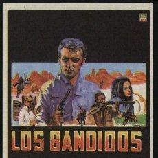 Cine: P-0120- LOS BANDIDOS (THE BANDITS) ROBERT CONRAD - MANUEL LÓPEZ OCHOA - PEDRO ARMENDÁRIZ JR.. Lote 262048365