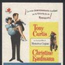 Cine: P-2252- SALVAJE Y ENCANTADOR (WILD AND WONDERFUL) TONY CURTIS - CHRISTINE KAUFMANN - LARRY STORCH. Lote 21001479