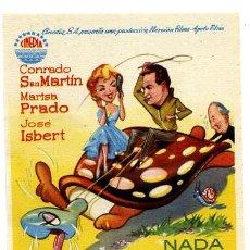 Flyers Publicitaires de films Anciens: NADA MENOS QUE UN ARKANGEL , SENCILLO , PMD 424. Lote 58148179