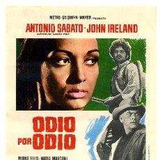 Cine: ODIO POR ODIO , SENCILLO , PMD 448. Lote 294166943