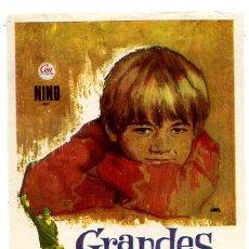 Cine: GRANDES AMIGOS , SENCILLO , PMD 592. Lote 12705952