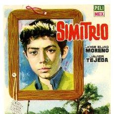 Cine: SIMITRIO , SENCILLO , PMD 634. Lote 12707158