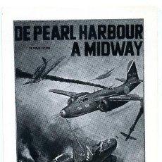 Cine: DE PEARL HARBOUR A MIDWAY , GRANDE , SENCILLO , PMD 642. Lote 179327268