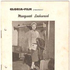 Cine: ALARMA EN EL EXPRESO PROGRAMA LIBRITO DANES ALFRED HITCHCOCK MARGARET LOCKWOOD MICHAEL REDGRAVE. Lote 12761253