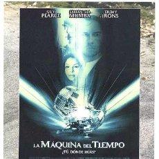 Cine: LA MAQUINA DEL TIEMPO, CON JEREMY IRONS. 19 X 24 CMS.. Lote 174337558