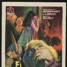 Cine: P-0753- EL VAMPIRO DE LA AUTOPISTA (VAL DAVIS - BARTA BARRI - JOE CAMROY - SUSAN CARVASAL). Lote 121158739