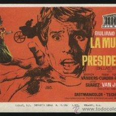 Cine: P-0013- LA MUERTE DE UN PRESIDENTE (IL PREZZO DEL POTERE) FERNANDO REY - GIULIANO GEMMA. Lote 262594565