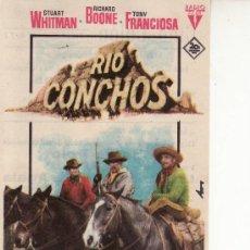 Cine: RIO CONCHOS.PROGRAMAS DE CINE-VEA MAS EN RASTRILLOPORTOBELLO. Lote 12868051