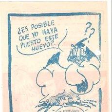 Cine: EL HUEVO Y YO PROGRAMA CONCURSO UNIVERSAL CLAUDETTE COLBERT FRED MACMURRAY B. Lote 18490497