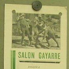 Cine: EL TERROR DE LAS PRADERAS 1920'S PROGRAMA LOCAL GRANDE KEN MAYNARD JORNADAS SERIAL. Lote 12902281