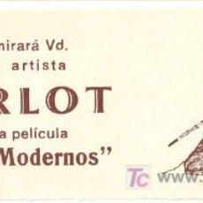 Cine: TIEMPOS MODERNOS PROGRAMA LOCAL GRANDE CHARLES CHAPLIN PAULETTE GODARD. Lote 27276709