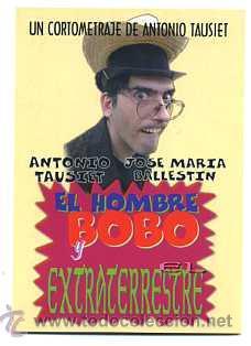 EL HOMBRE BOBO Y EL EXTRATERRESTRE. (Cine - Folletos de Mano - Ciencia Ficción)
