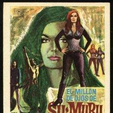 Cine: P-1315- EL MILLON DE OJOS DE SU-MURU (THE MILLION EYES OF SUMURU) SHIRLEY EATON - FRANKIE AVALON. Lote 21747289