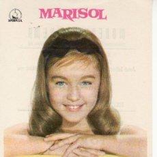 Cine: TOMBOLA. MARISOL. AÑO 1962 PROGRAMAS DE CINE- ¡COLECCIONALOS! . Lote 27010597