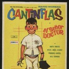 Cine: P-2941- EL SEÑOR DOCTOR (MARIO MORENO (CANTINFLAS) - MARTA ROMERO - MIGUEL ANGEL ALVAREZ). Lote 21979623