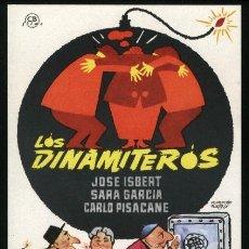 Cine: P-1524- LOS DINAMITEROS (JOSE ISBERT - SARA GARCIA - CARLO PISACANE - LOLA GAOS). Lote 21979631