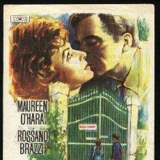 Cine: P-0306- ESCANDALO EN VILLA FIORITA (THE BATTLE OF THE VILLA FIORITA) (REGIO - YECLA) MAUREEN O'HARA. Lote 22009670