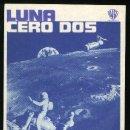 Cine: P-1410- LUNA CERO DOS (MOON ZERO TWO) JAMES OLSON - CATHERINE SCHELL - WARREN MITCHELL. Lote 158804852