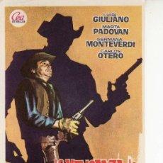 Cine: LA VENGANZA DE CLARK HARRISON. CINE- COLECCIONISMO EN GENERAL-RASTRILLOPORTOBELLO.. Lote 32011493