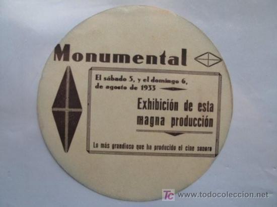 Cine: Imagen del dorso. - Foto 2 - 18357157