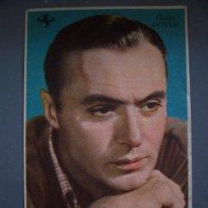 Cine: PROGRAMA SENCILLO: CHARLES BOYER - LOS CAPRICHOS DE ELENA Y AL MARGEN DE LA VIDA- 1946/47. Lote 20394705